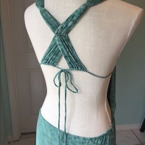 INDAH XS sexy dress green bodycon